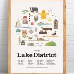 A-Z of the Lake District Print