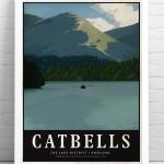 Catbells Print