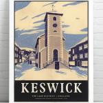 Keswick Print