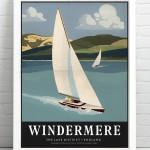 Windermere Print