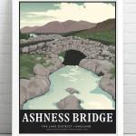 Ashness Bridge Print